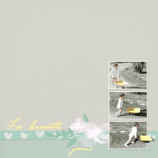 14-04 Brouette jaune