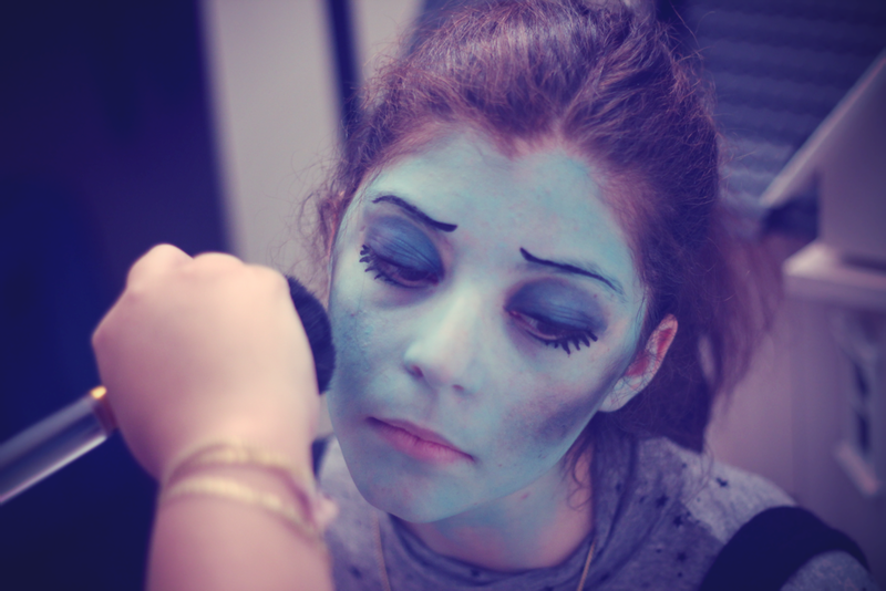 Corpse bride emily make up
