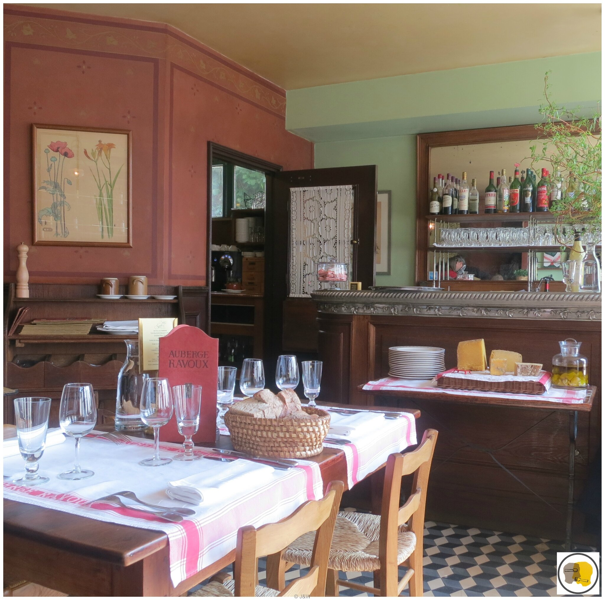 photo restaurant auvers sur oise auberge ravoux