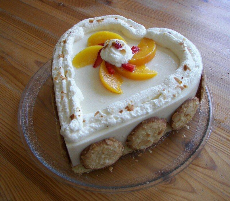 Gâteau au fromage blanc printanier