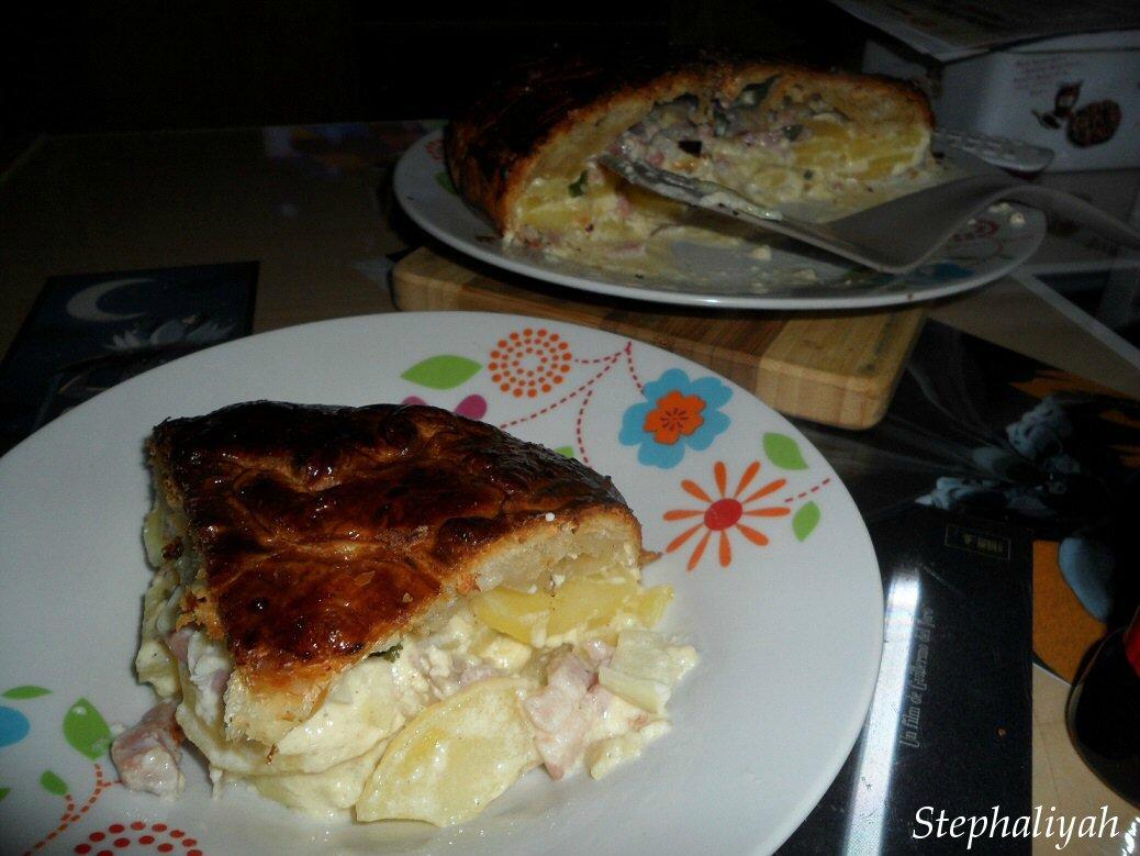 Pâté aux pommes de terre -- 3