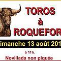 Roquefort : la commission taurine a dévoilé les ganaderias pour 2017
