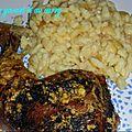 Poulet au yaourt et au curry