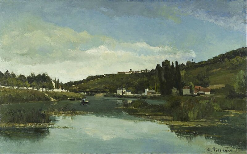 800px-Camille_Pissarro_-_The_Marne_at_Chennevières_-_Google_Art_Project