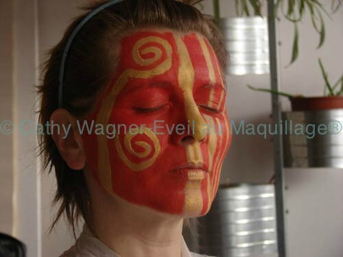 copyright Cathy Wagner Eveil au maquillage® 739