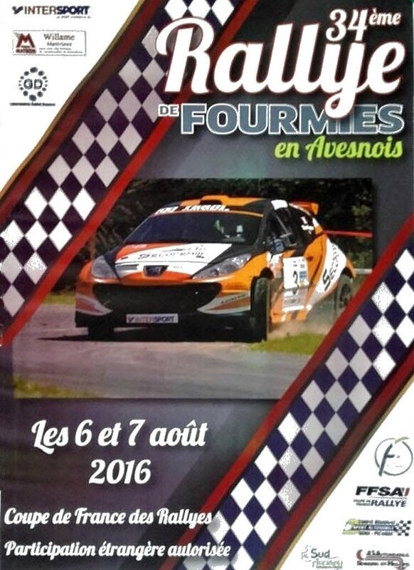 Rallye Fourmies-Avesnois-2016