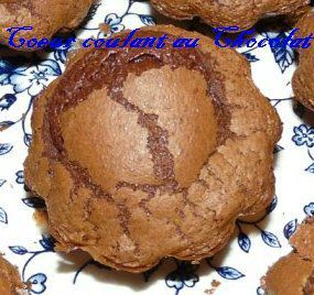 Muffins chocolat au Coeur Coulant