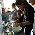 Atelier cuisine pour sarah et ses amies