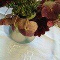 Me dire que même à l'automne il y a des fleurs dans le jardin !