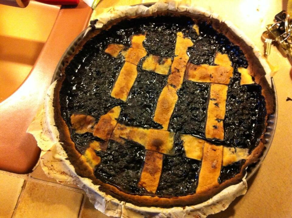 La tarte aux myrtilles d'Audrey