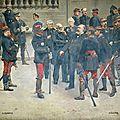 Gervex, Officiers et généraux de la guerre de 1870