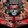 Ufc fight night 26 en live streaming ce soir
