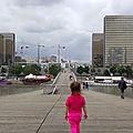 Les passerelles et les ponts de paris - °2 la passerelle simone-de-beauvoir
