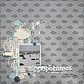 les hippopotames ne craignent pas la pluie