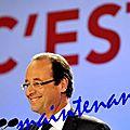 Francois hollande est élu président de la république