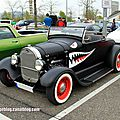 Ford roadster de 1929 (rencard burger king avril 2014)