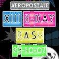 El 25/10/07 XIII B-Day @ Aéropostale Liège