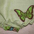 papillon appliqué