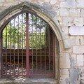 Enfeu de l'ancienne église Saint Pierre l'Hospitalier