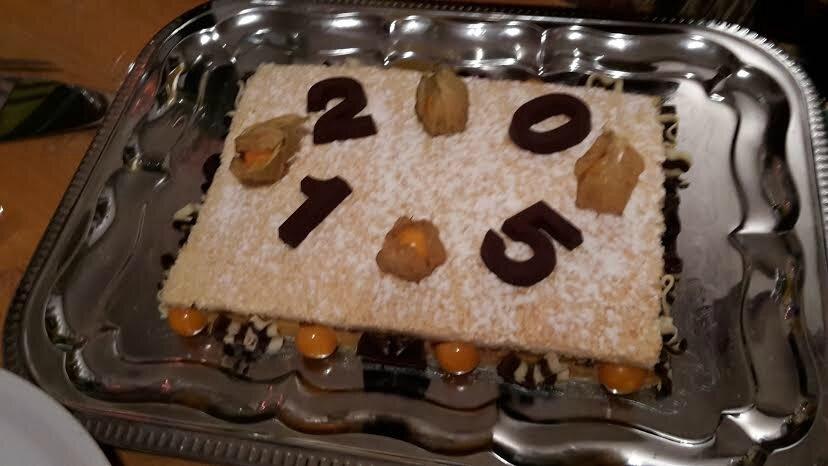 notre entr 233 e et nos desserts du nouvel an 2015 r 233 gal en famille