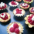 tartelettes de fruits rouges
