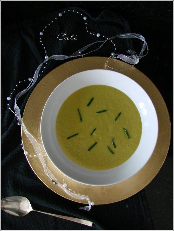 Potage Safrané (Poireaux & Pommes de Terre) 001
