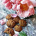 Biscuits aux raisins secs et aux flocons d'avoine, comme une envie subite
