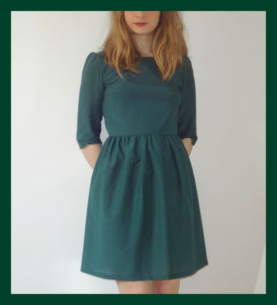 Robe vert sapin ALM