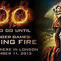Avant première londonienne Catching Fire