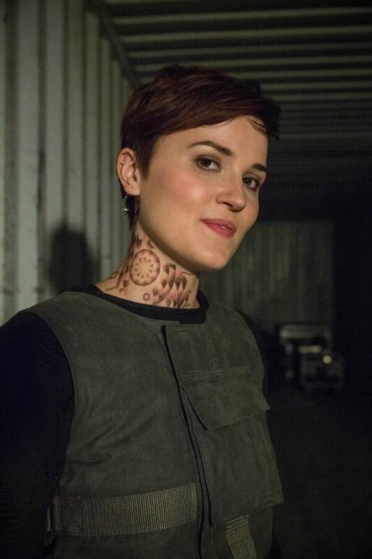 Veronica Roth in Divergent movie