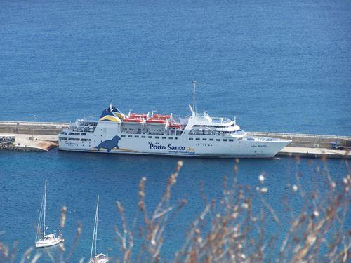 Navette maritime entre Madère et Porto Santo