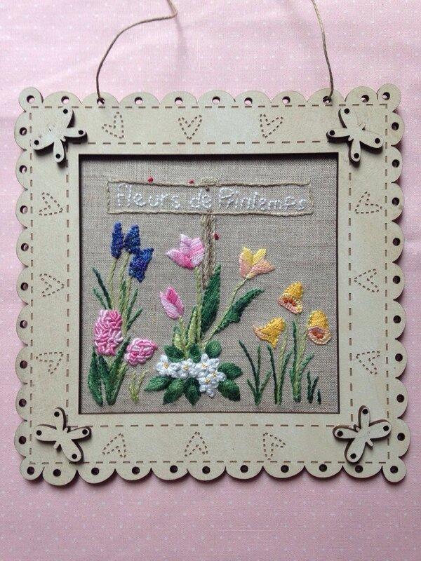 Premier jour du printemps christiane malgouris broderies - 1er jour du printemps ...