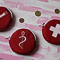 porte monnaie infirmière