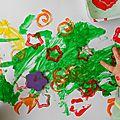 Peinture au tampon