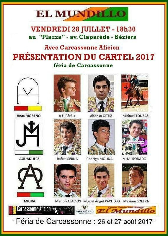 el mundillo CARCASSONNE2017-cartels