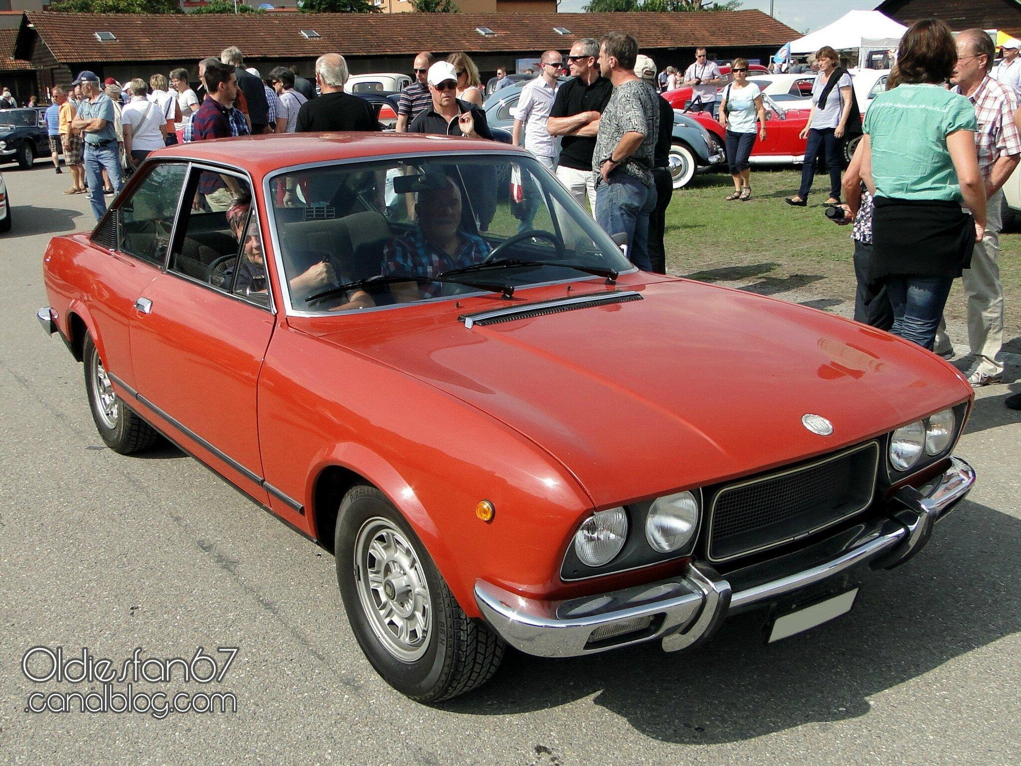 Fiat tous les messages sur fiat oldiesfan67 mon blog auto - 1975 fiat 124 sport coupe ...
