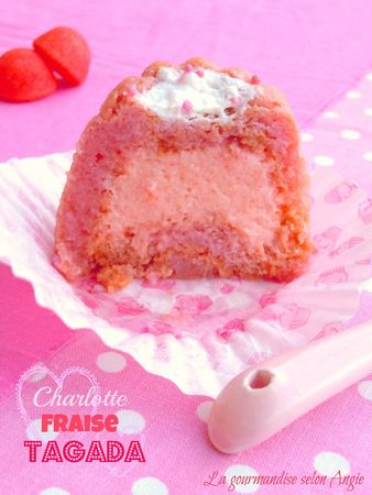 mini charlotte tiramisu fraise tagada