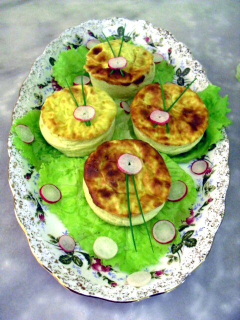 timbales d'asperges