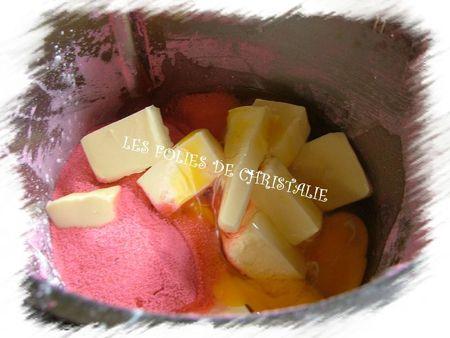 Galette des rois biscuits roses 4