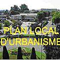 Plan local d'urbanisme :ce qui se prépare …