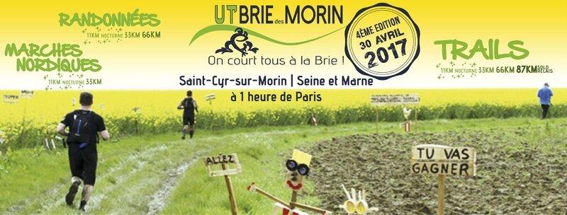 Bandeau Ultra Trail de la Brie des Morins 2017