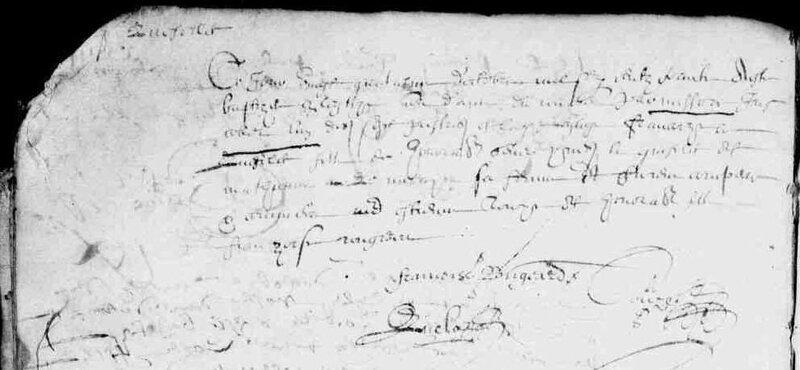 1630 le 24 octobre naissance François à ND du Roncier