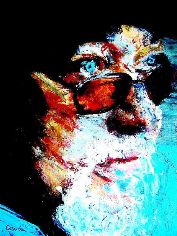Eddy Louiss, pastel sur papier, 24x32cm, 2010