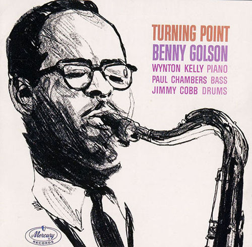 benny golson - turning point (sleeve art)