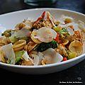 Orechiette poulet-poivron-brocoli