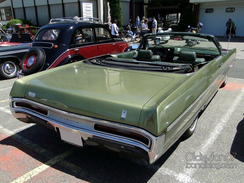 Plymouth fury 3 convertible 1970-2