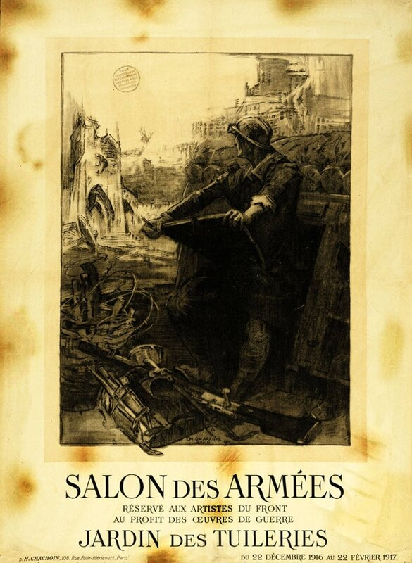 Affiche_Paris_Salon_des_Arm_es_1916_1917