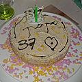 Gâteau décore par mes enfants ...