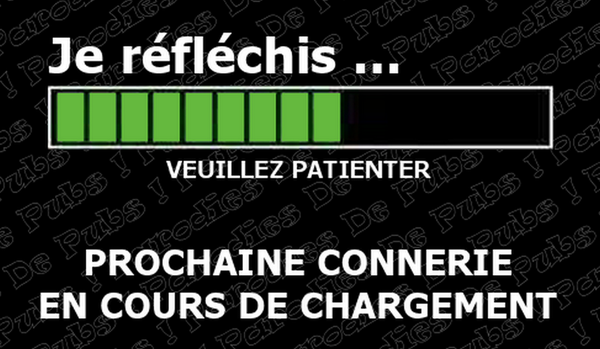 connerie chargement