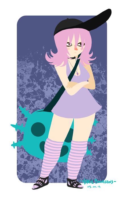 PinkHairGirl